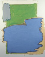 (Blauwe rots), 2000, 183X147 cm., eitempera op doek/ egg tempera on canvas