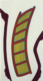 (F109), 2003-2004, 60X32 cm., eitempera op doek