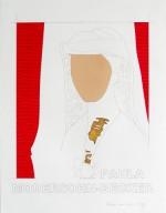(F171), 2009, 65X50 cm., collage op papier