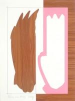 (F176), 2009, 40X30 cm., collage op papier