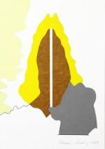 (F221), 2012, 30X21 cm., collage op papier