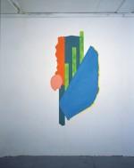 (Rogier), 2003, 160X80 cm., muurschildering (eitempera)/ wall painting (egg tempera)